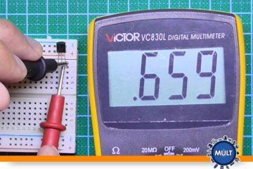 omo testar um transistor em um multímetro analógico