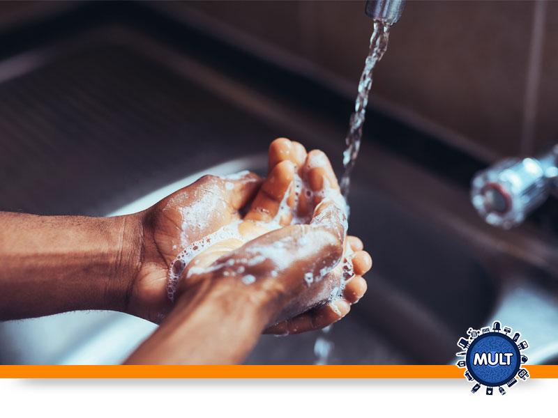 Lave bem as mãos após utilizar o equipamento
