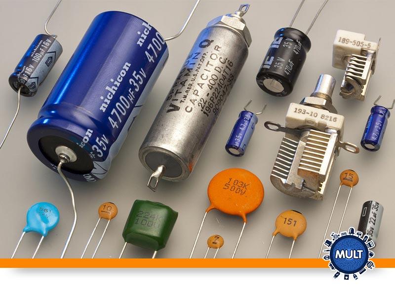 história dos capacitores