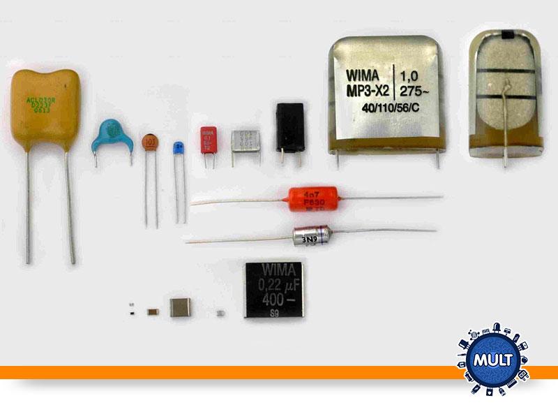 tipos de aplicações dos capacitores