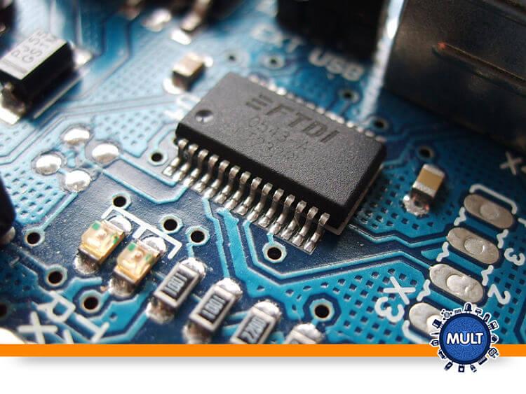 componentes de eletrônica digital