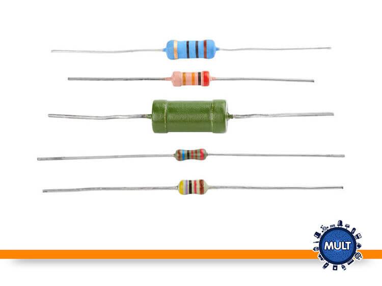 diferentes tipos de resistores