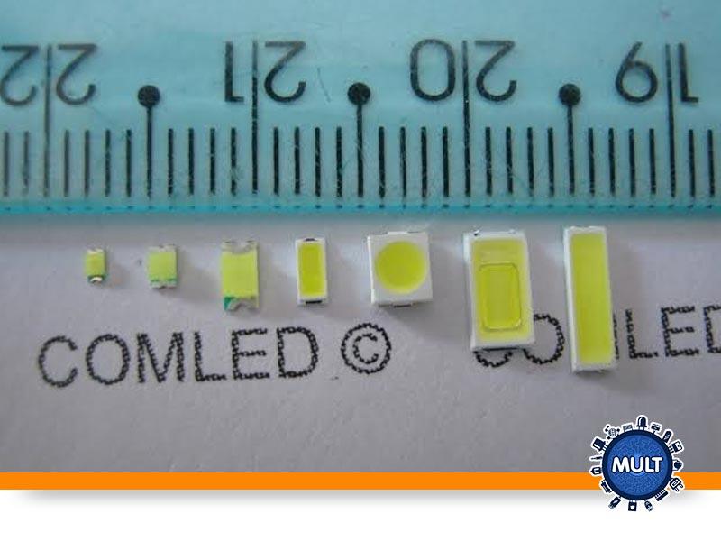 miniatura de LED ou SMD