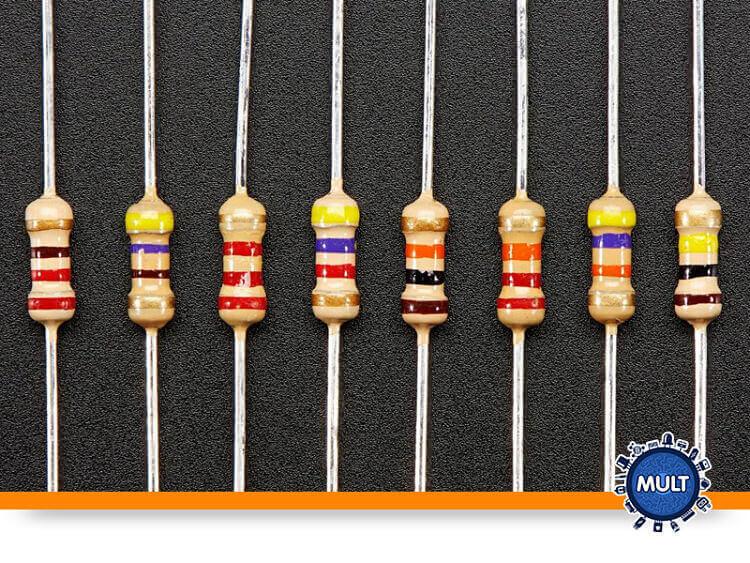 o que é o código de cores dos resistores