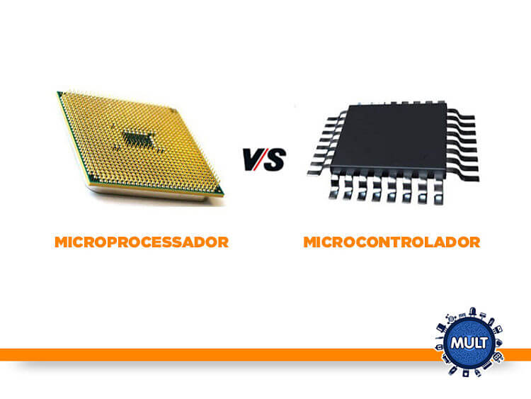 microcontrolador e microprocessador