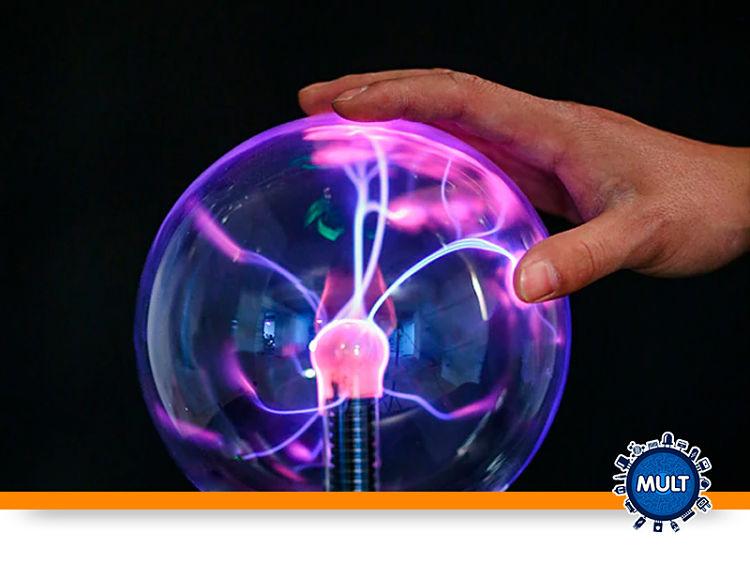 o que aocntece quando você toca uma bola de plasma