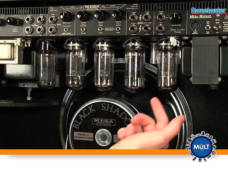 como saber se a válvula do amplificador queimou