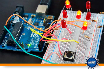 como fazer um circuito eletrônico com Arduíno