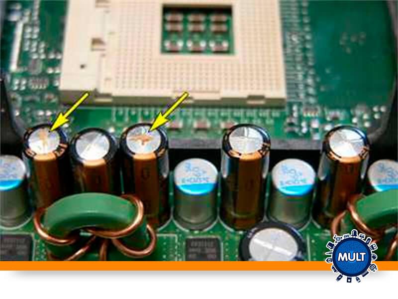 onde os capacitores podem ser utilizados