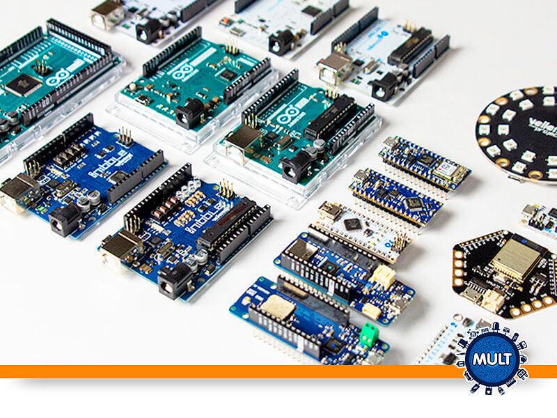 quais são os principais tipos de Arduíno