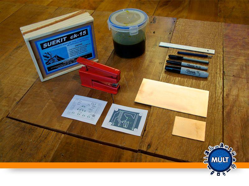 materiais para montar um circuito